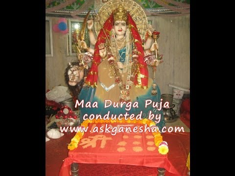 Maa Durga Puja, Nav Durga Puja, www.askganesha.com