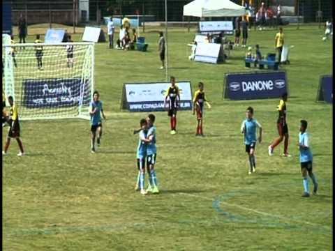 COPA DAS NAÇÕES - DANONE 2012 - Grêmio Eng. / GUSTAVO BRIAN camisa 6