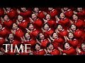What To Know About North Koreas Olympic Cheerleaders: The Army Of Beauties | TIME