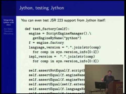 Image from Integrating Jython with Java