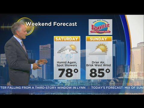 WBZ Morning Forecast For August 11