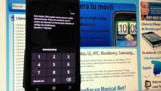 Liberar Nokia Lumia 800 Por Imei De Vodafone, Movistar O