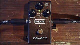 Watch the Trade Secrets Video, MXR M300 Reverb Pedal Video