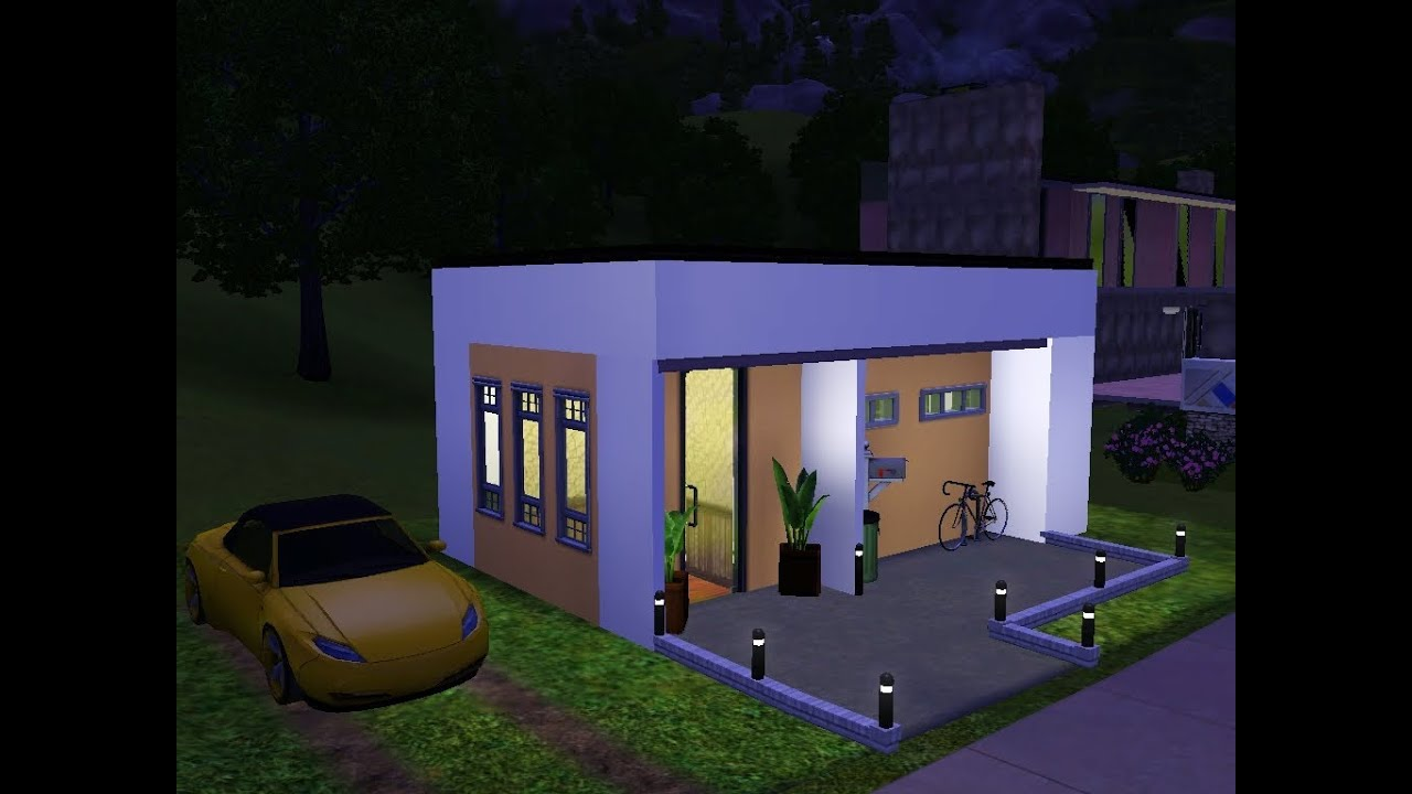 Sims 3 Modern House Blueprints Joy Studio Design Gallery