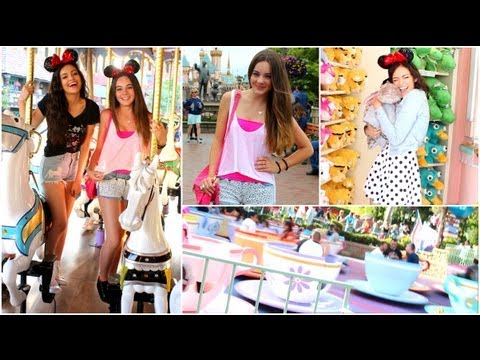 Amusement/Theme Park Outfit ideas! (Disneyland), Wanna see more theme park videos and videos with my friends? THUMBS UP! HAPPY SUMMER! Do you have any fun summer plans this year? lemme know in the comments!...