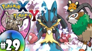 Pokemon X And Y Dual Gameplay Walkthrough: VS Mega Doubles