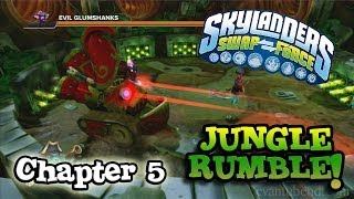 Let's Play Skylanders SWAP FORCE Chapter 5 JUNGLE RUMBLE