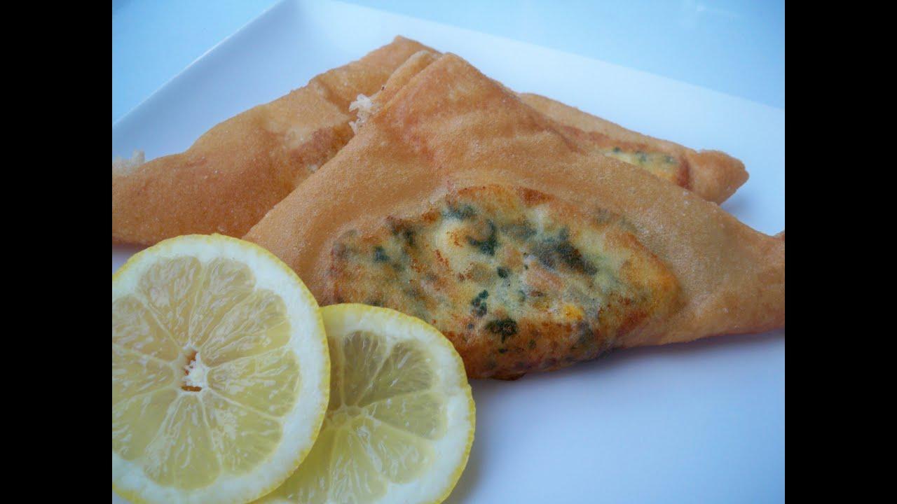 Brick au thon brick bil ton cuisine tunisienne youtube for Cuisine tunisienne