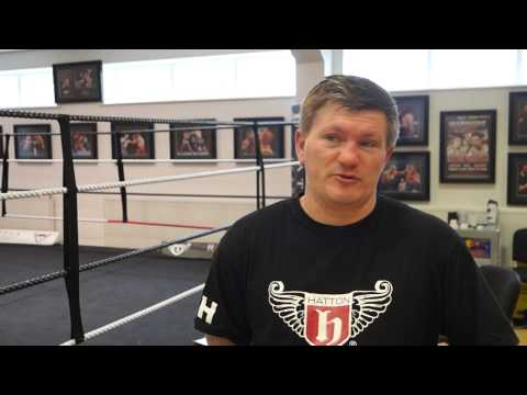 Ricky Hatton relishing trip Down Under