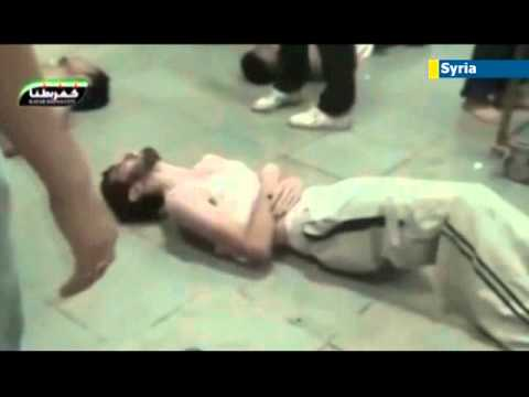 CIA releases video of Syrian chemical weapons victims as Obama pushes for anti-Assad intervention