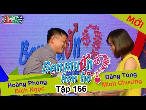 BẠN MUỐN HẸN HÒ - Tập 166 | Hoàng Phong - Bích Ngọc | Đăng Tùng - Minh Chương | 09/05/2016