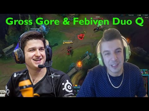 Gross Gore & Febiven - Duo Funny Moments and Highlights