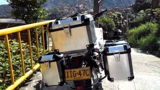Maletas para moto hechas a mano