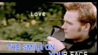 Ronan Keating When You Say Nothing At All [Karaoke Video