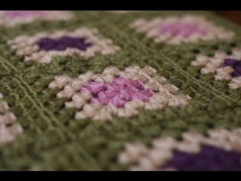 Crochet for Knitters - Granny Square Blanket - YouTube