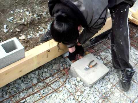 Ferraille pour beton