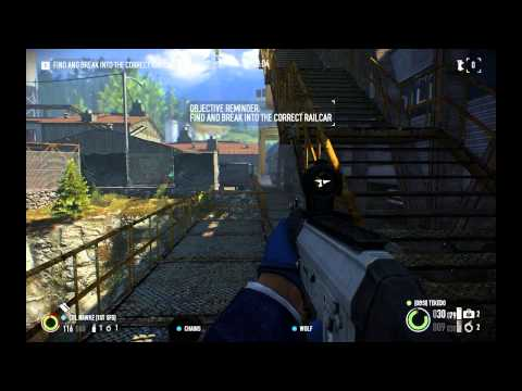 Payday 2 Armored Transport DLC Special Heist: Train Robbery