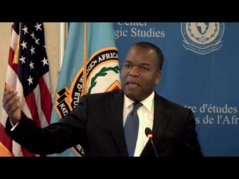 Dr. Malaquias: Comprehensive, Multinational Approaches to African Maritime Security