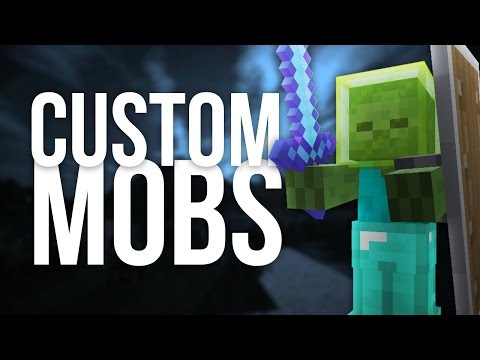 How to Spawn Mobs with Custom Items, Armor and Weapons in Minecraft