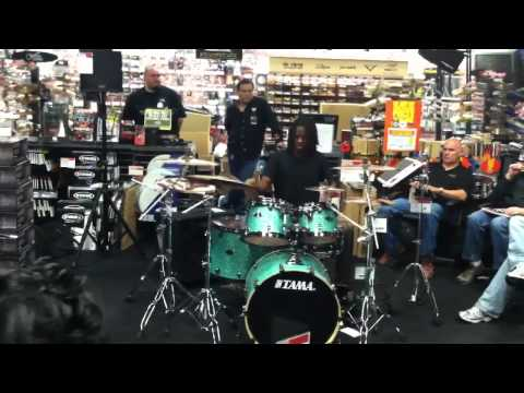 Fred Boswell Jr. Guitar Center Drum Off Store Finals 2012