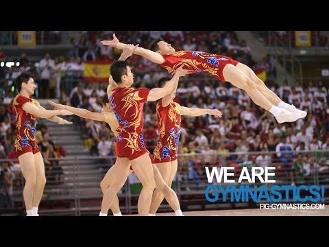 2012 Aerobic Worlds SOFIA -  Group Final - We are Gymnastics!