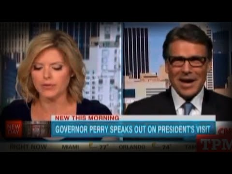 Rick Perry Chewed Alive By His Own Words, Oops