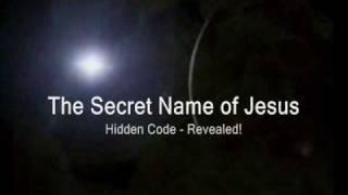 REVEALED!The Secret Name Of Jesus (Hidden Code- Hebrew