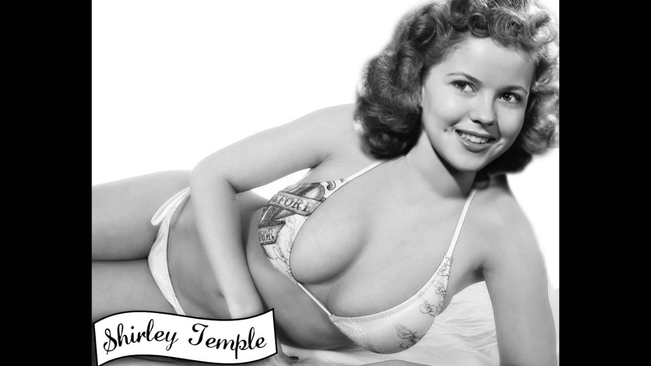 Consider, that Shirley temple black nude apologise, but