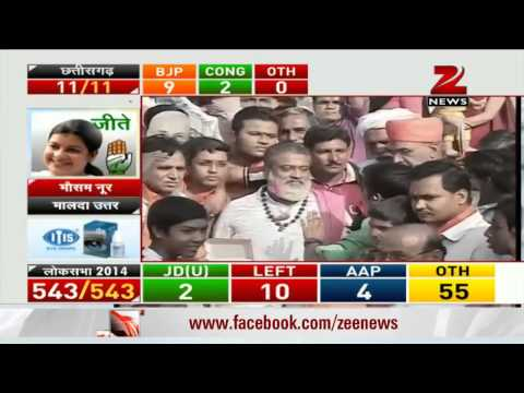 Election result 2014 : BJP rejoices the victory