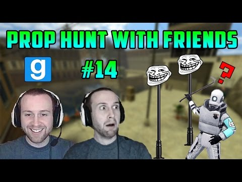 Garry's Mod: Seananners Pole Trolling Returns! (Gmod Prop Hunt with Friends #14)