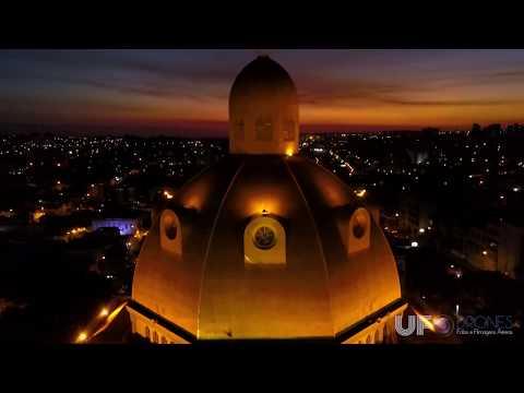 Vídeo Drone mostra a Catedral de São Carlos de maneira espetacular