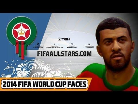 EA 2014 FIFA World Cup Morocco Faces - FIFAALLSTARS.COM