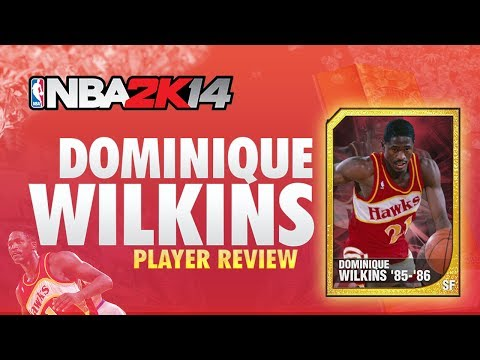 NBA 2K14 My Team DOMINIQUE WILKINS Player Review! 95 Overall + 70 Point Game!