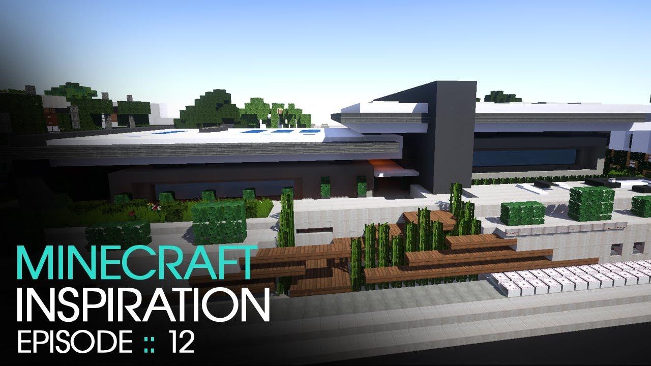 Minecraft Modern House 2 Inspiration W Keralis