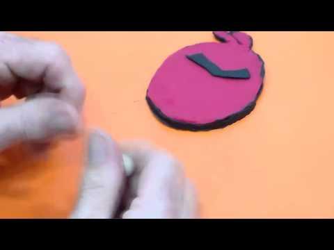 Play Doh Manualidades con plastelina Angry Birds.Manualidades caseras.