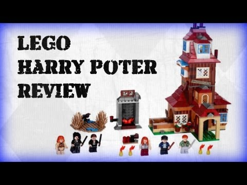 LEGO | 2010 Harry Potter | The Burrow 4840 Review