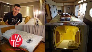 Where to Stay in Japan   Hotel, Ryokan, Capsule, AirBNB, Guest House, Hostel...