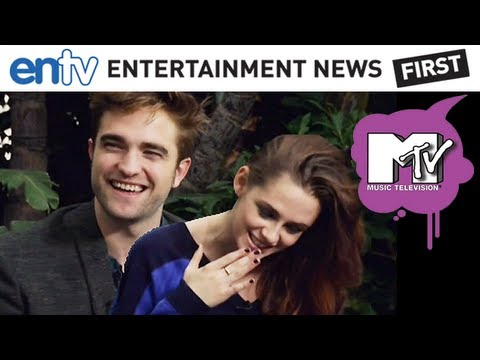 Robert Pattinson & Kristen Stewart Talk Twilight MTV Interview: ENTV, TWILIGHT! SHARE ME on TWITTER! http://bit.ly/WggAg0 Robert Pattinson and Kristen Stewart sit down with Josh Horowitz of MTV to talk relationships and Twiligh...