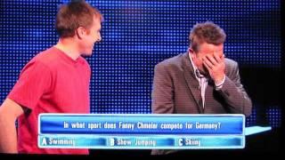 Bradley Walsh Giggles At 'Fanny Chmelar' ( Smeller