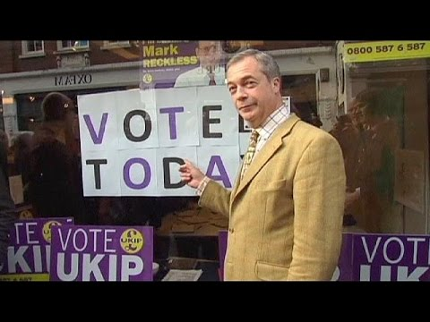Anti-Europe UKIP party tops opinion polls in UK by-election