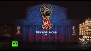 The official emblem of the 2018 FIFA <b>World Cup</b> in Russia has been unveiled, with the logo projected onto the iconic Bolshoi...</div><div class=