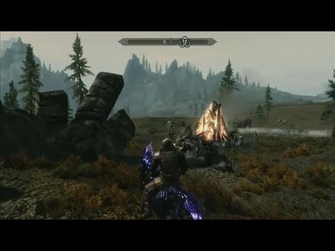 E3 Stage Shows - Skyrim: Dawnguard DLC - E3 2012 Demo