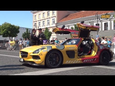 Gumball 3000 Checkpoint in Vilnius, Lithuania 2013: 2013