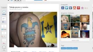 Los Mejores Tatuajes De Boca Juniors