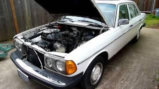 1981 Mercedes Benz  240 diesel  4 Speed