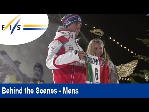 Marcel Hirscher preparing for the last giant slalom of 2013 - Alta Badia - Behind the Scenes - Men