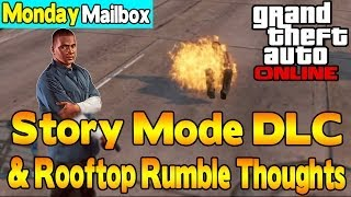 GTA 5 Online Story Mode DLC, Rooftop Rumble Thoughts