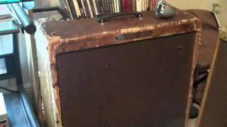 Hendrix On 1960 Fender Tweed Bassman And 1964 Super Reverb