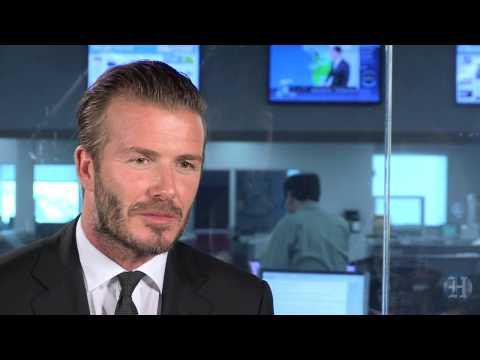 Five questions with David Beckham