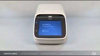 8インチ大画面タッチパネル搭載Applied Biosystems® SimpliAmp™サーマルサイクラー®